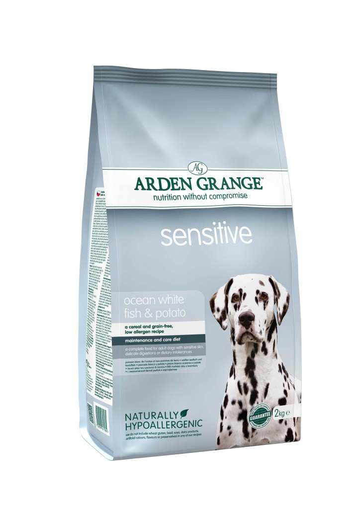 8 _ Arden Grange_  Adult Sensitive 2kg
